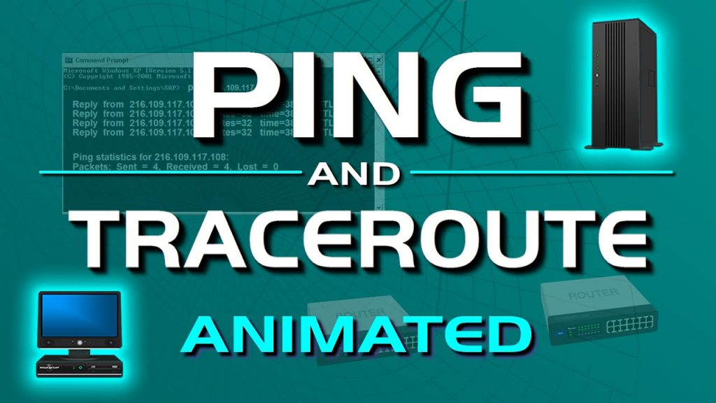 PING and TRACERT traceroute networking