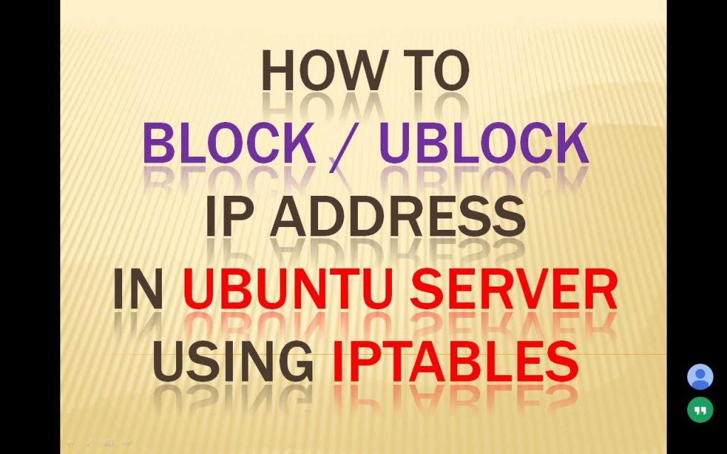 Block or unblock ip range subnet contries trong iptables