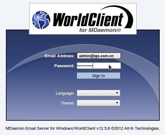 webmail mdaemon