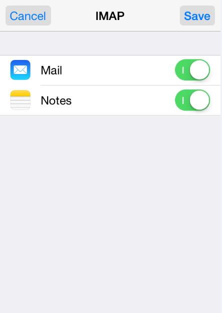 thiết lập tài khoản Email trên iPhone 9