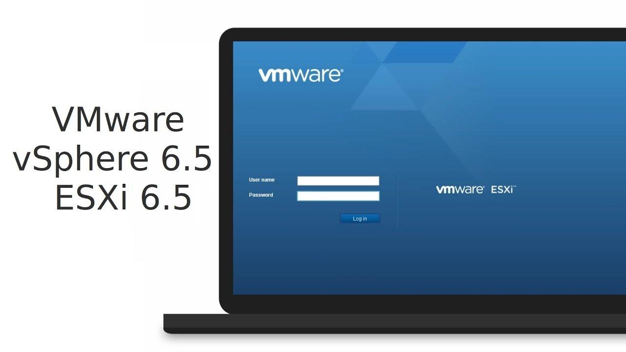 Hướng dẫn cài đặt VMware ESXi 6.5